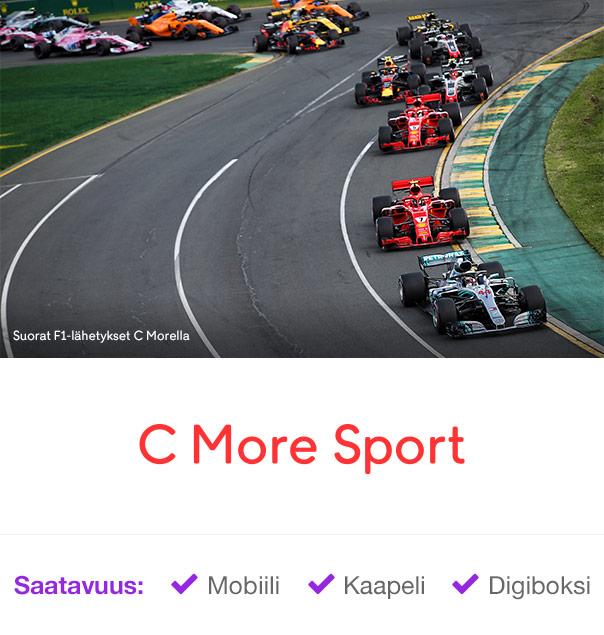 F1 – C More Sport