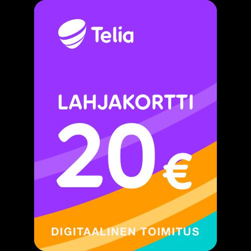 Lahjakortti 20 euroa