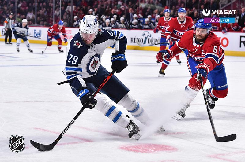 NHL-jääkiekkoa Viasatilla