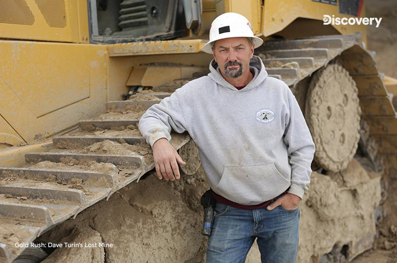 Gold Rush: Dave Turin's Lost Mine Discoverylla