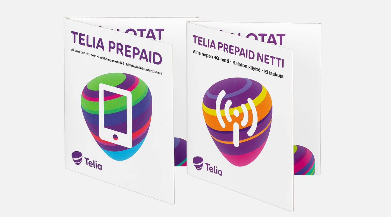 Telia Prepaid -paketit