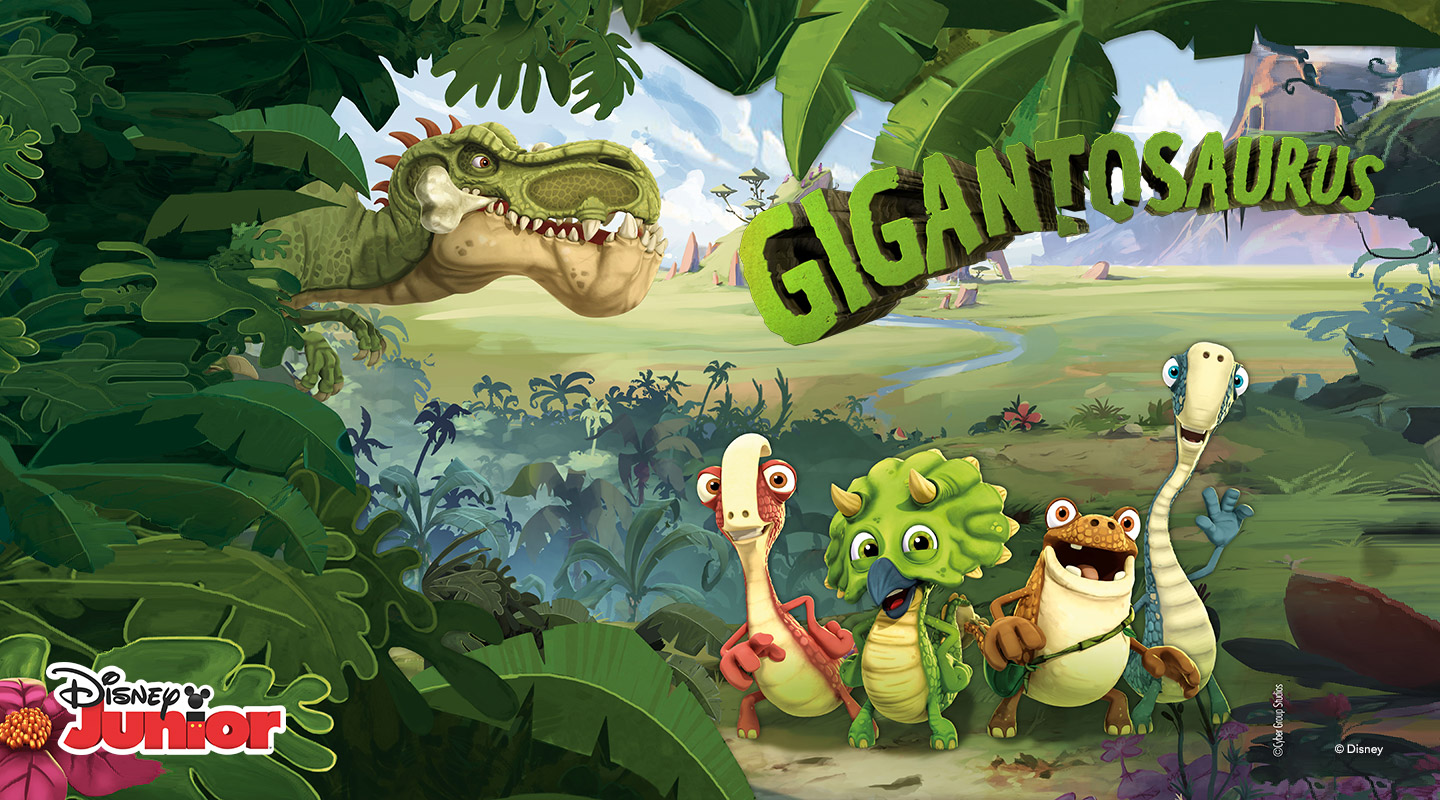 Gigantosaurus Disney Junior