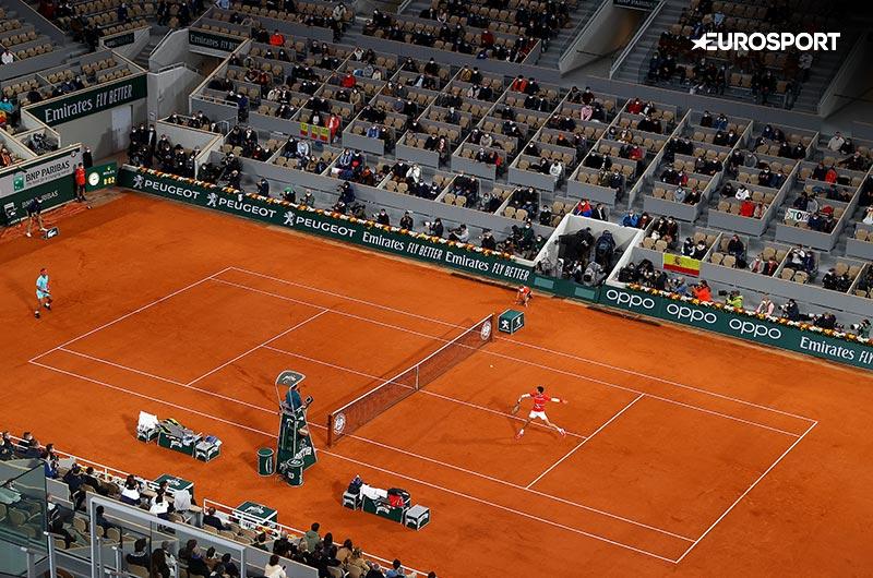 Ranskan avoin tennisturnaus Eurosportilla