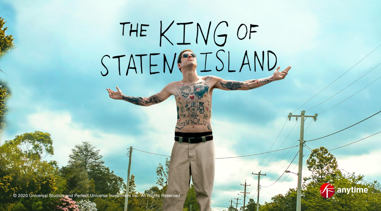 The King of Staten Island Vuokraamossa