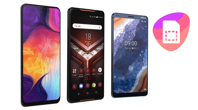 Uusi Android-puhelin + liittymä
