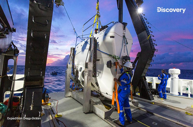 Expedition Deep Ocean Discoverylla