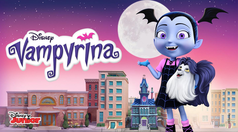Vampirina Telia TV Lasten paketissa