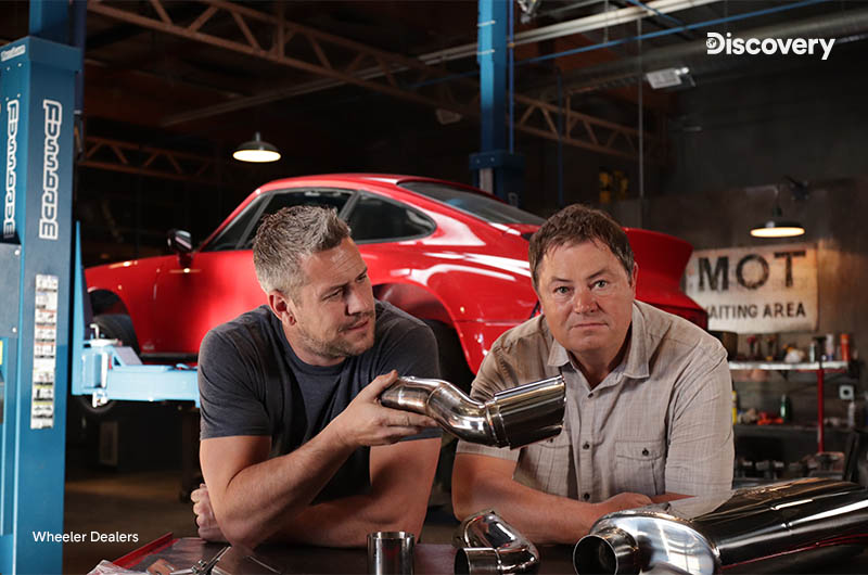 Wheeler Dealers Discovery Channelilla