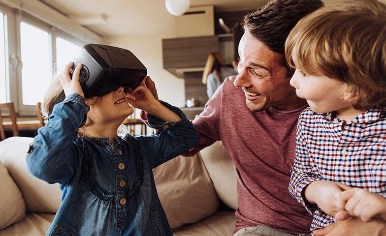 5G yksityisille perhe