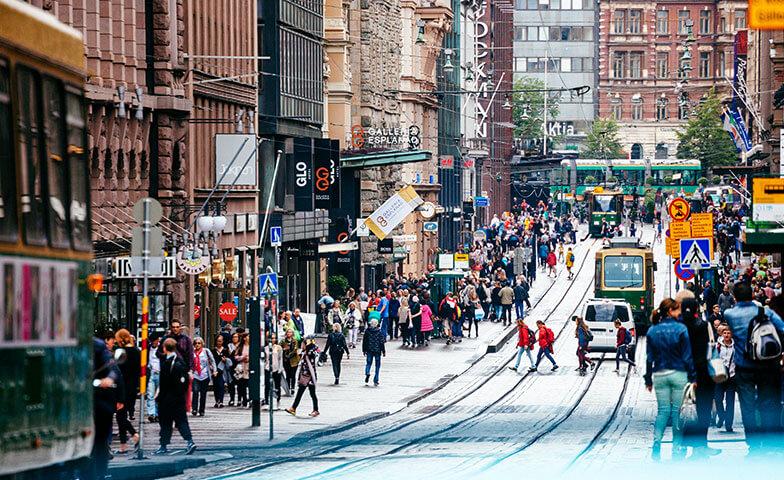 5G älykäs kaupunki