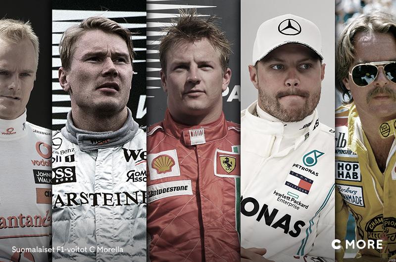 Suomalaiset F1-voitot -sarja C Morella