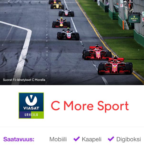F1 C Morella – Viasat Urheilu + C More Sport