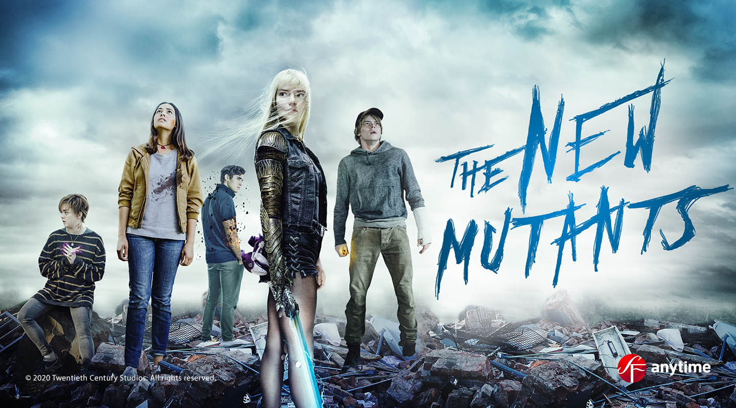 The New Mutants Vuokraamossa