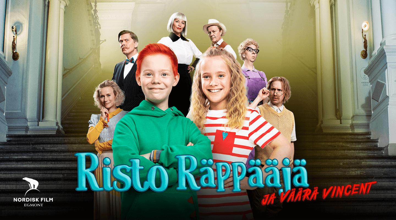 Risto Räppääjä ja väärä Vincent Vuokraamossa