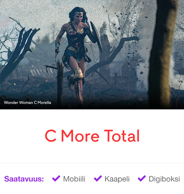 C More Total: Wonder Woman