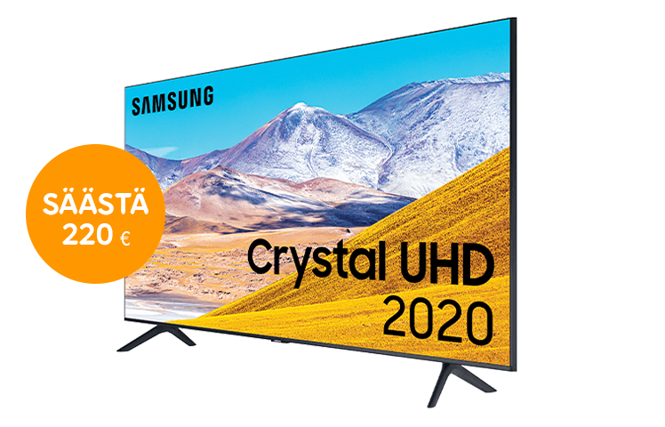 Samsung '55 UHD 4K -televisio