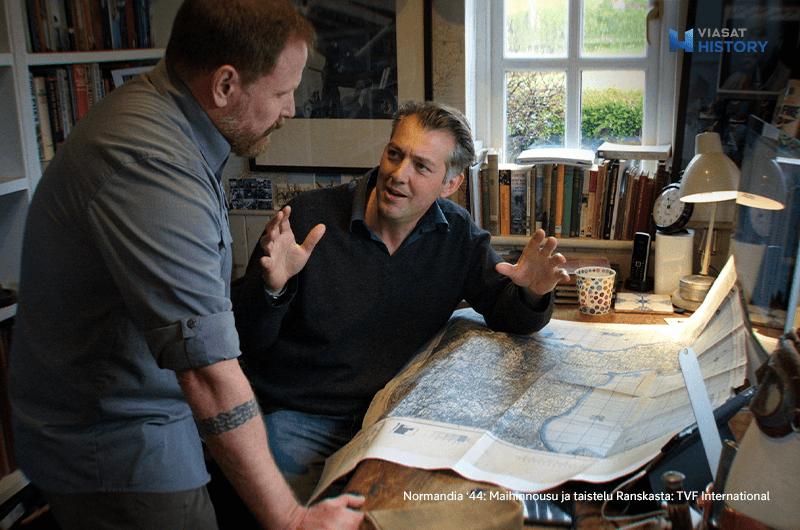 Normandia '44: Maihinnousu ja taistelu Ranskasta Viasat History