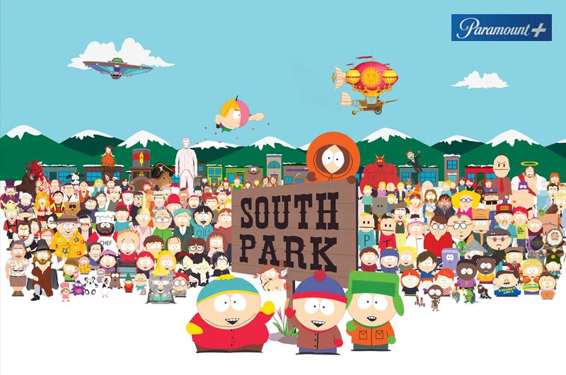 South Park Paramount+suoratoistopalvelussa