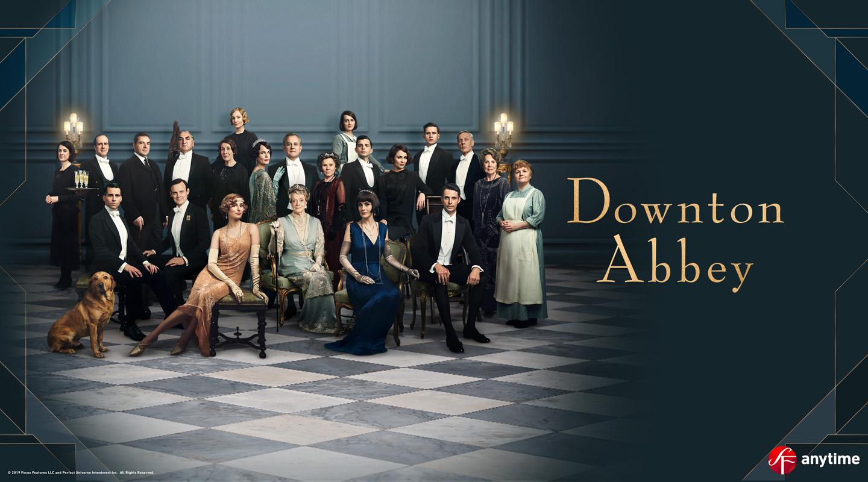 Downton Abbey Vuokraamossa