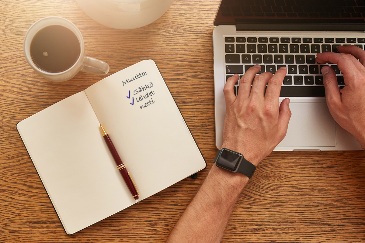 Lue vinkit, miten netti muuttaa mukanasi uuteen kotiin.