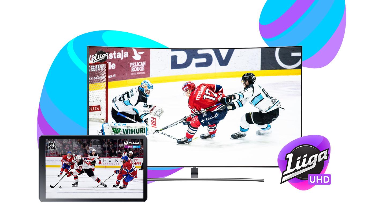 Liigapassi + Viasat Jääkiekko