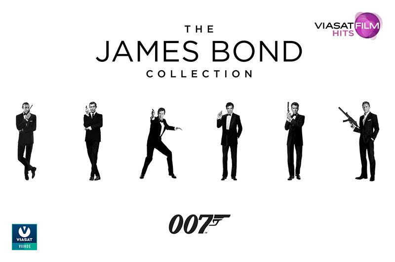 Viasat Film Hits: James Bond 007