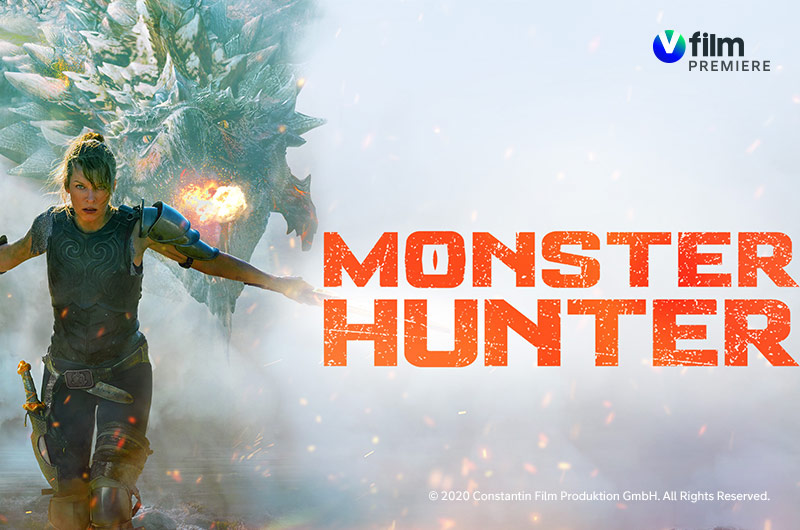 Monster Hunter V film premiere -kanavalla