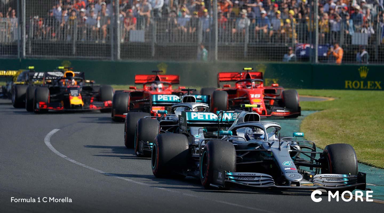 Suorat F1-lähetykset C Morella