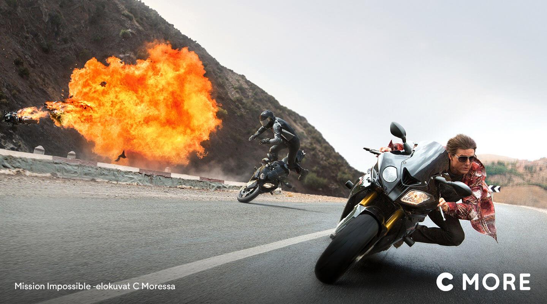 Mission Impossible -elokuvat C Moressa