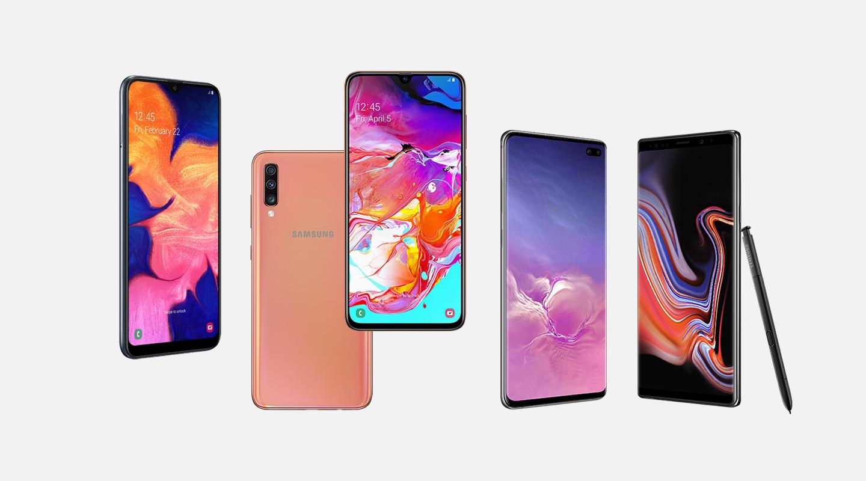 Samsung-puhelimet