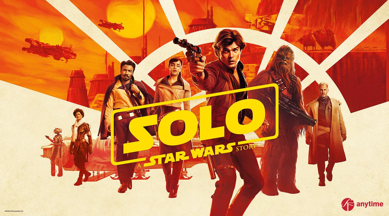 Vuokraamo - Solo: A Star Wars Story