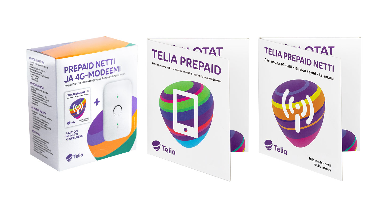 Telia Prepaid -aloituspaketit
