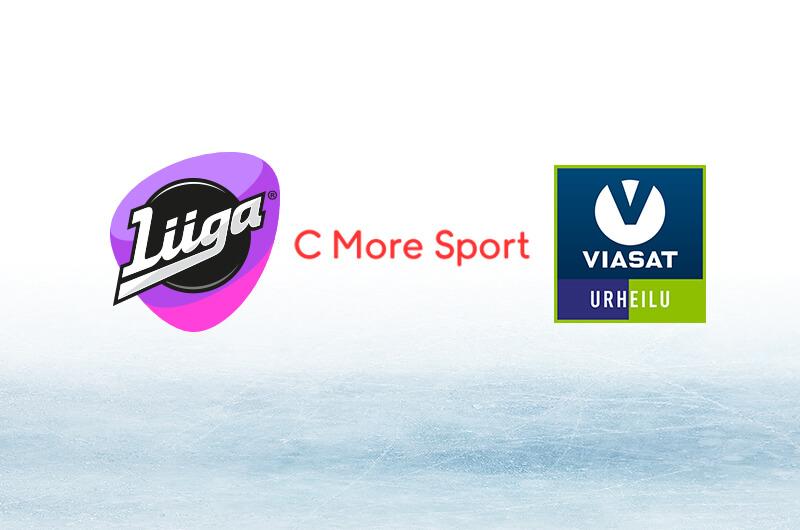 Liiga-passi + C More Sport + Viasat Urheilu