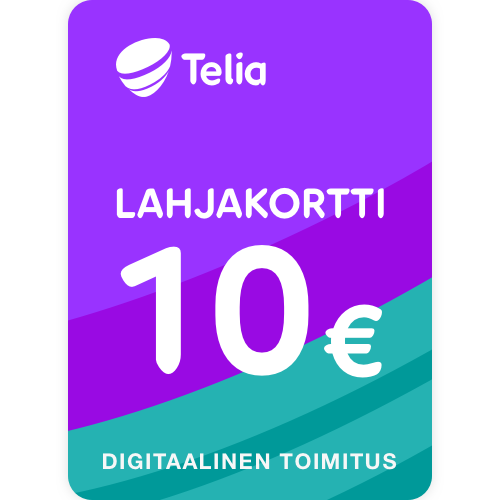 Lahjakortti 10 euroa