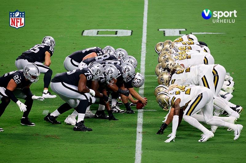NFL V sport urheilu -kanavalla