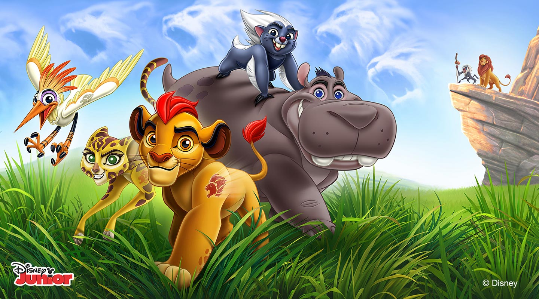 Disney Junior: Leijonakaarti
