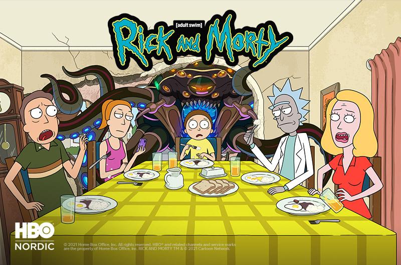 Rick and Morty HBO Nordicilla