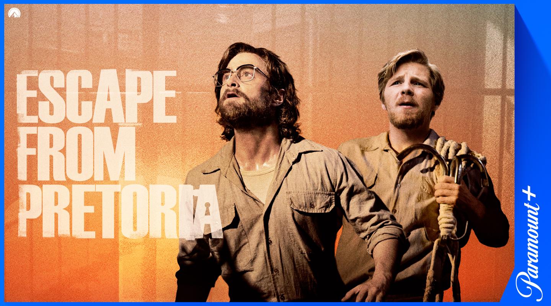 Escape from Pretoria Paramount+-suoratoistopalvelussa