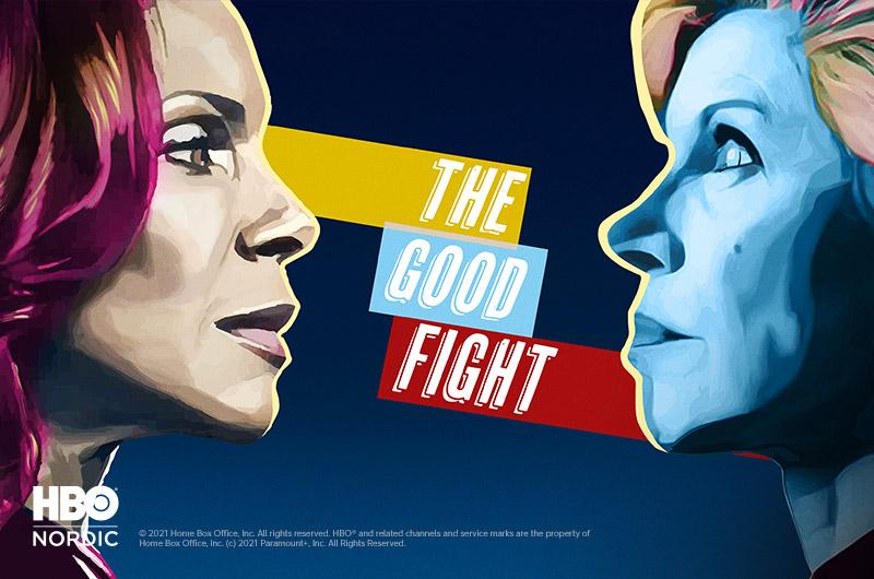 The Good Fight HBO Nordicilla