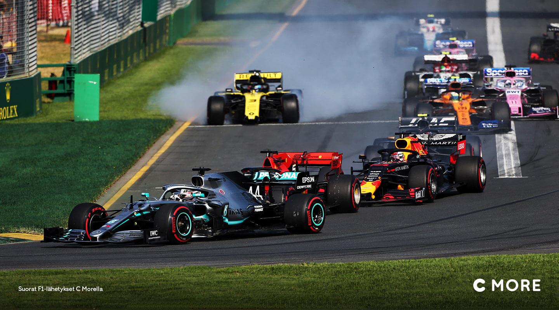 Formula 1 – C More