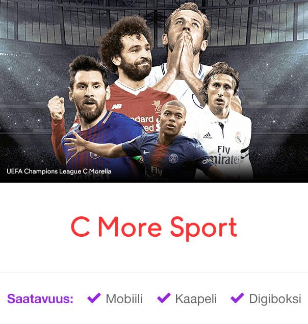 C More Sport – UEFA Chanpions League