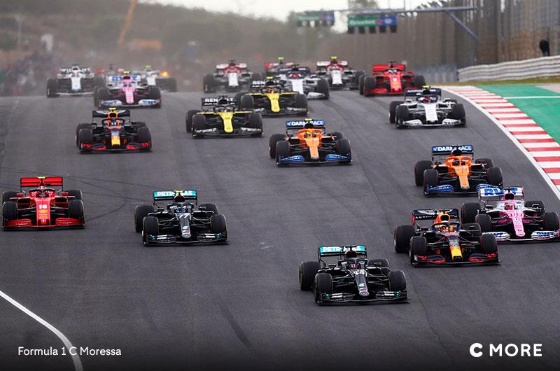 Formula 1 suorana C Moressa