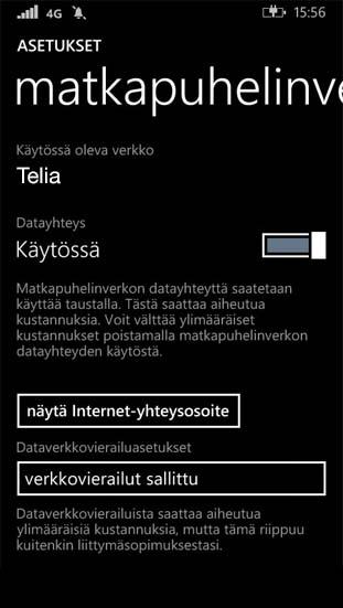 Dataverkkovierailu