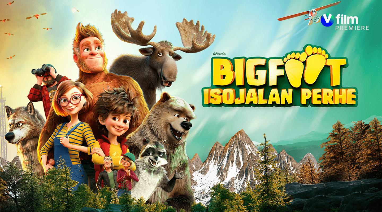 Bigfoot Isojalan perhe