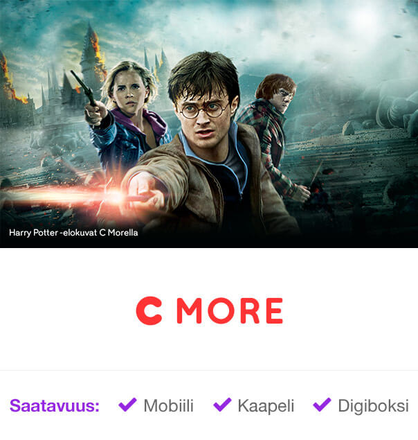 C More Harry Potter -elokuvat
