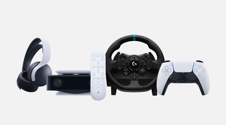 PS5-tarvikkeet