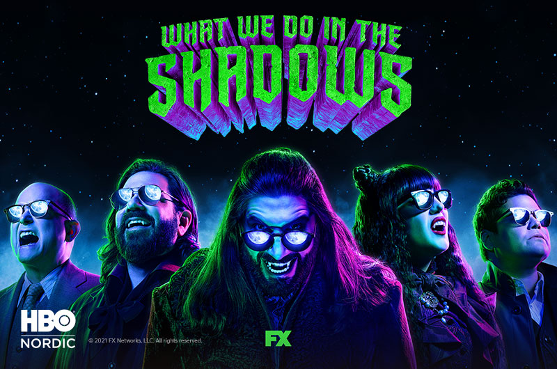 What We Do in the Shadows HBO Nordicilla