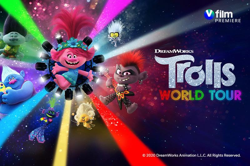 Trolls: Maailmankiertue V film premiere -kanavalla
