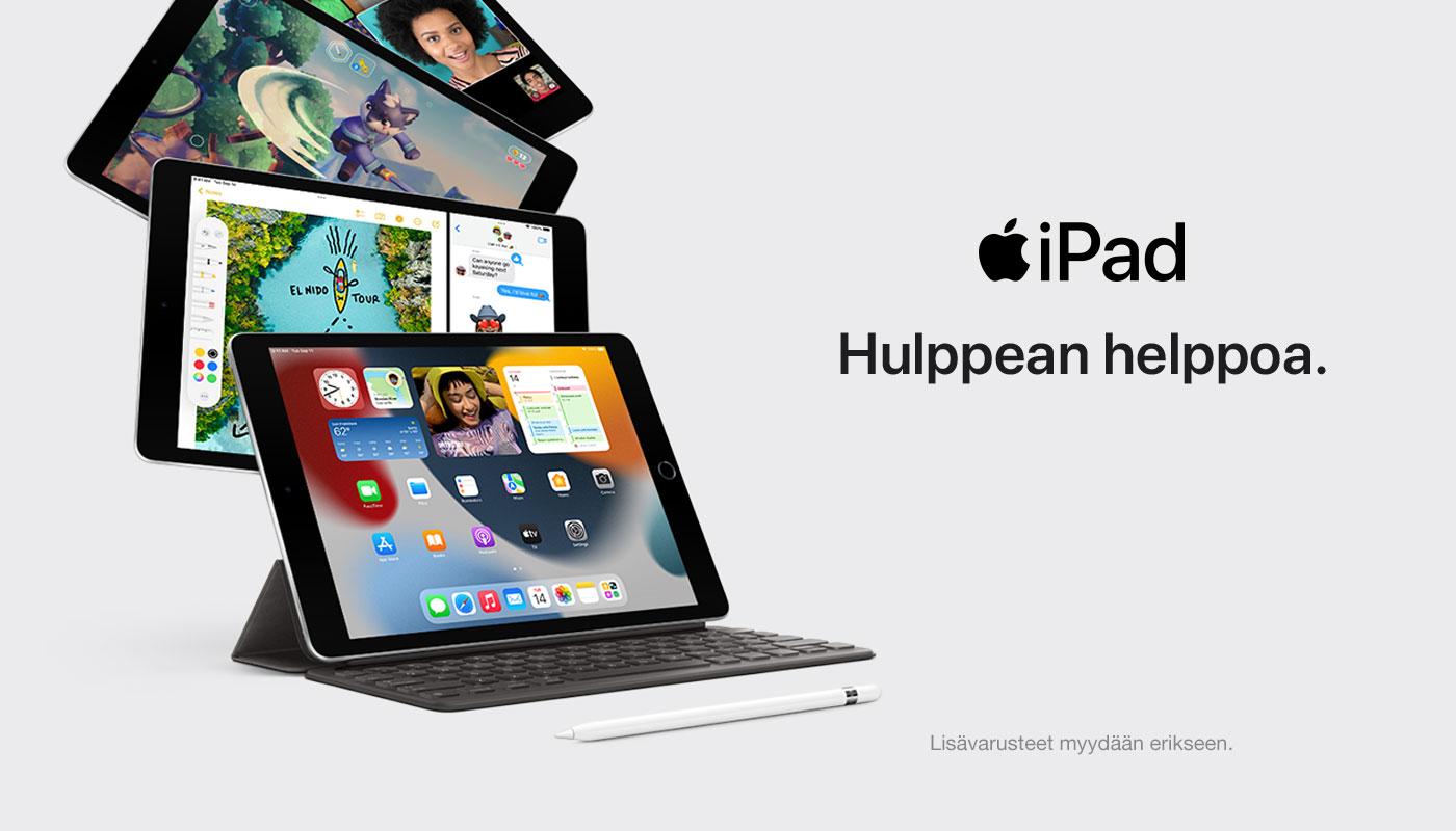 Apple iPad 10,2 (2021) nyt ennakkomyynnissä