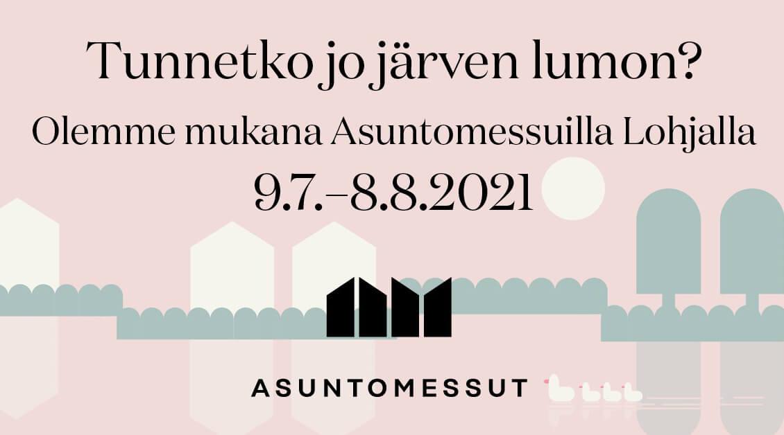 Telia Lohjan asuntomessuilla 2021
